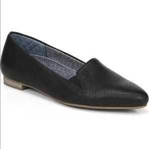 Dr. Scholl's Anyways faux snakeskin flats